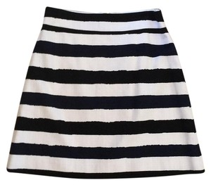 Kate Spade Skirt Black and white