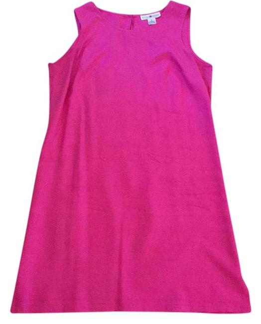 Item - Pink Above Knee Short Casual Dress Size 8 (M)