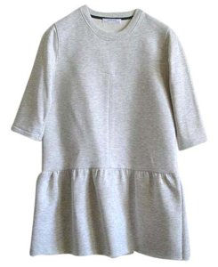 Zara short dress Sweatshirt Drop Waist Pleated Skirt on Tradesy