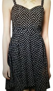 Maeve Casual Retro Polka Dot Dress