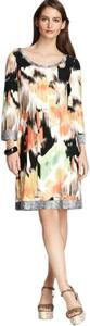 Calvin Klein Retro Geometric Abstract Dress