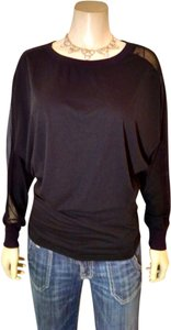 Nice Forever Long Sleeves P1009 Top black