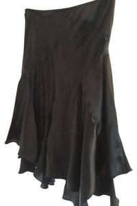 Studio M Silk Skirt Black