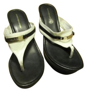 Tommy Hilfiger Sandal Black & wHITE Sandals