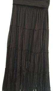Other Stretchy Lined Skirt Black