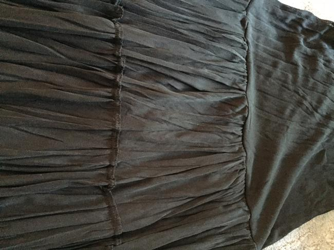 Other Stretchy Lined Skirt Black Image 2