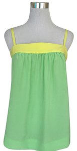 HD in Paris Top Seafoam green and neon yellow