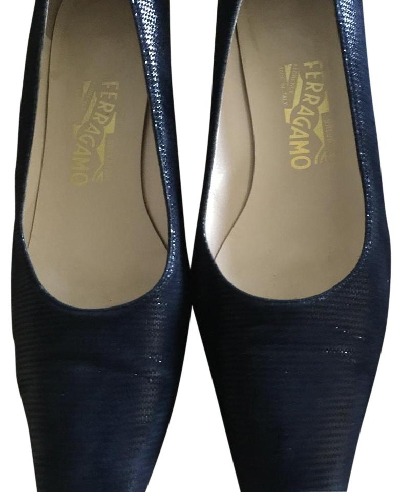 salvatore ferragamo blue pumps on sale 74 off pumps on sale. Black Bedroom Furniture Sets. Home Design Ideas