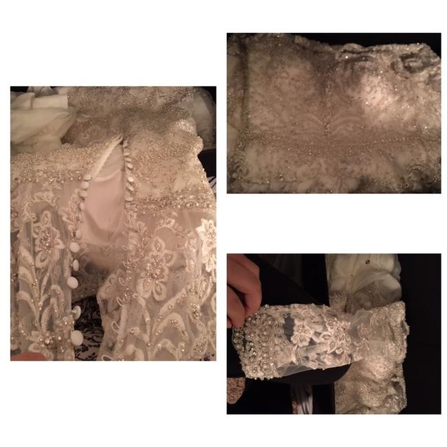 Item - White Couture Long Formal Dress Size 14 (L)