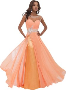 Tony Bowls New Prom Tbe11440 Size 8 A-line Empire Waist Dress