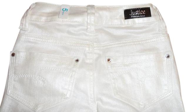 Item - White Super Girls Pants Perfect Fit Perfect Look Skinny Jeans Size OS (one size)