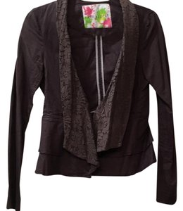 Free People Brown Blazer