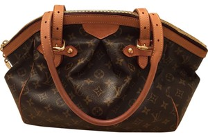 Louis Vuitton Large Tote Tivoli Gm Satchel in Brown