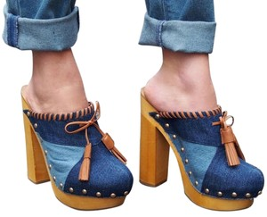 Shellys London Denim Mules