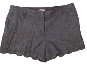 Ann Taylor LOFT Mini/Short Shorts Chambray, blue