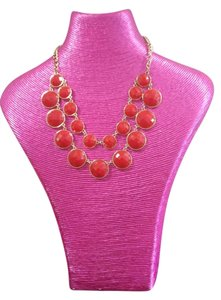 Francesca's Red and Gold Necklace