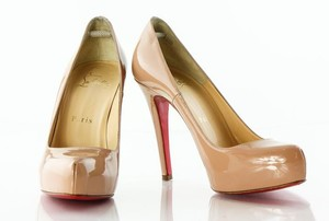 Christian Louboutin Rolando Red Beige Pumps