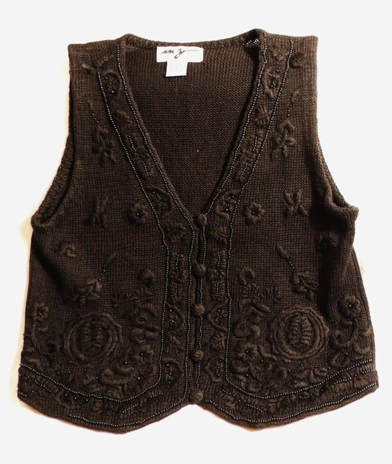 MY Vest Crochet Top Black