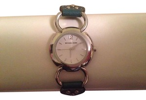MICHAEL Michael Kors Teal Leather Watch