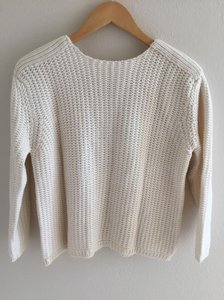 0b3f3705 Zara White Sweater - Tradesy