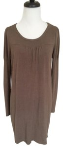 BCBGMAXAZRIA short dress Brown Bcbg Max Azria on Tradesy