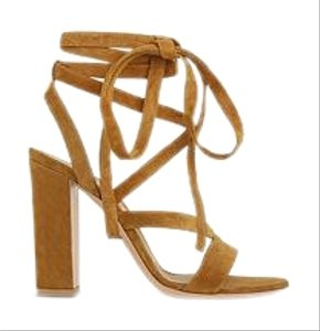 Gianvito Rossi Tan Sandals