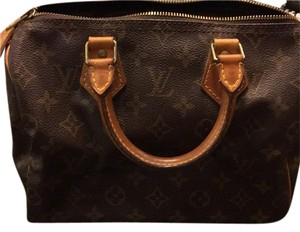 Louis Vuitton Satchel in Monogram Print