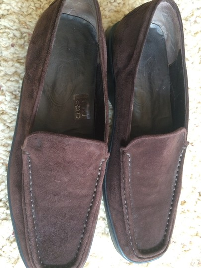 Tod's BROWN SUEDE Flats Image 3