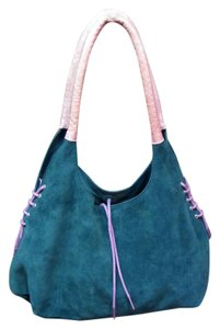 Mazzini Made In Italy Satchel in Teal