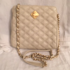 MONET Leather Quilted Cross Body Bag