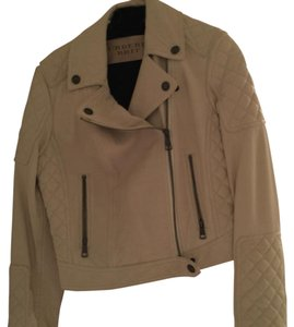 Burberry Brit Beige Leather Jacket