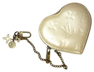 Louis Vuitton MOTHERS PRICE ENDS 5/14 ! Heart Coin Wallet Bag Charm