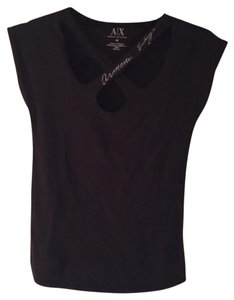 A|X Armani Exchange T Shirt Black