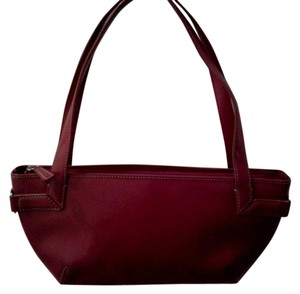 DKNY Satchel in Candy Apple Red
