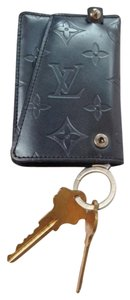 Louis Vuitton Authentic Louis Vuitton metallic gray Multicles/ Ring Key Case