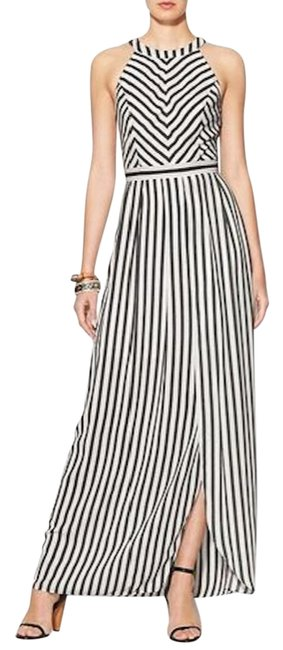 Preload https://img-static.tradesy.com/item/15677239/black-and-white-striped-long-cocktail-dress-size-6-s-0-1-650-650.jpg