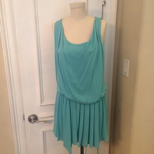 Alice + Olivia short dress Aqua Cocktail Dvf Free People Rebecca Taylor Vince on Tradesy