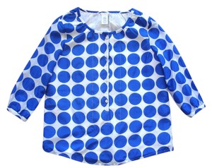 J.Crew Polka Dot Dots Top