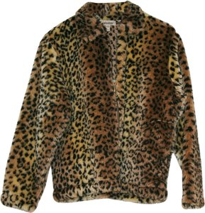 On Cue Casual Print Sale Cheetah Jacket