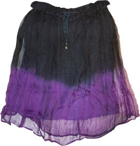 Funhouse Purple Skirt Purple, black