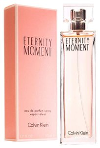 Calvin Klein ETERNITY MOMENT by CALVIN KLEIN Eau de Parfum Spray ~ 1.7 oz / 50 ml