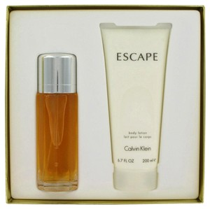 Calvin Klein ESCAPE ~ Gift Set -- 3.4 oz Eau de Parfum Spray + 6.7 oz Body Lotion