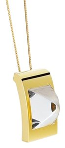 Hermès HERMES Gold Plated Saint Louis Crystal Circe Necklace