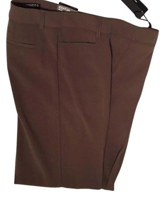 Preload https://img-static.tradesy.com/item/15678826/express-brown-taupe-editor-pants-size-2-xs-26-0-1-650-650.jpg