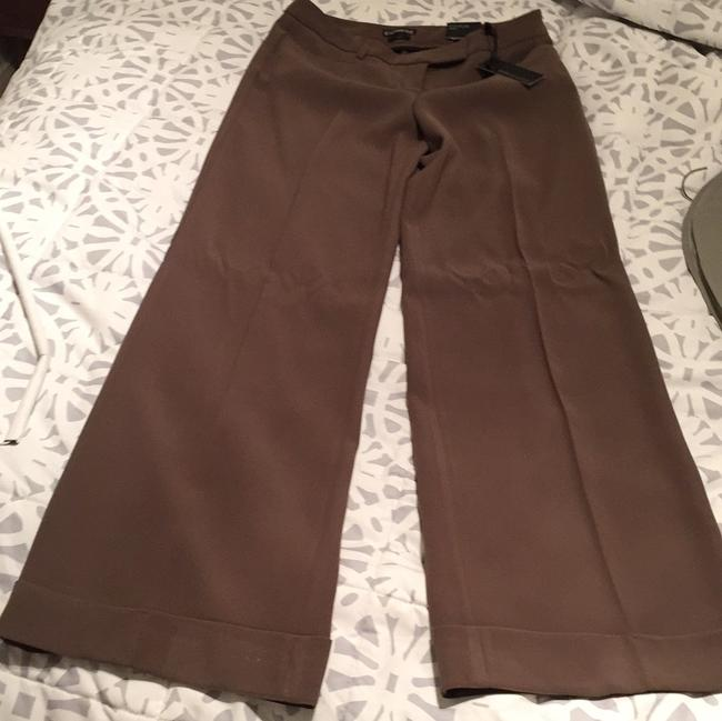 Express Wide Leg Pants Brown, taupe Image 1