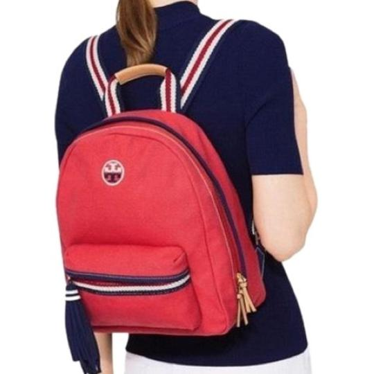 Preload https://img-static.tradesy.com/item/15679126/tory-burch-t-embroidered-embroidered-t-backpack-cherry-apple-canvas-shoulder-bag-0-2-540-540.jpg
