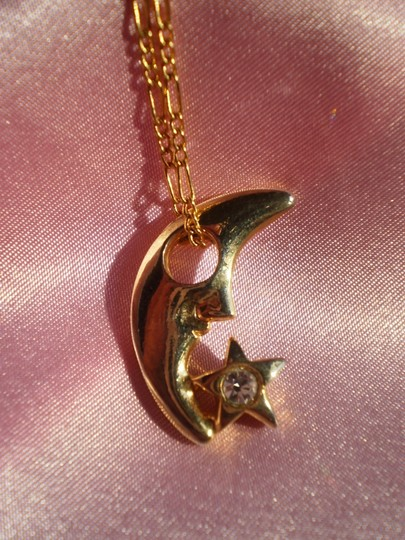 Preload https://item5.tradesy.com/images/gold-like-new-moon-and-star-wcrystals-necklace-156794-0-0.jpg?width=440&height=440
