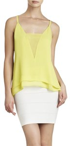BCBGMAXAZRIA Top Lime
