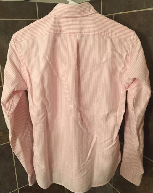 Ralph Lauren Polo Classic Oxford Oxford Oxford Polo Button Down Shirt Pink Image 1