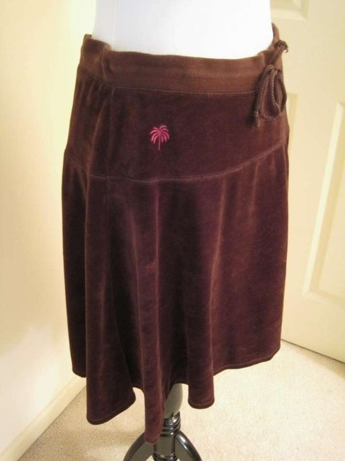 Lilly Pulitzer Com Comfortable Fall Winter Casual Skirt Brown